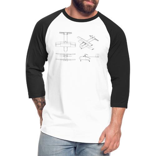 Aluminati - Unisex Baseball T-Shirt