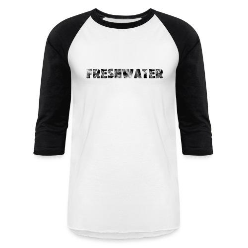 Freshwater Black - Baseball T-Shirt