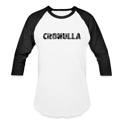 Cronulla Black - Baseball T-Shirt