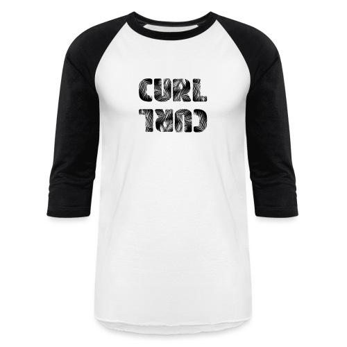 Curl Curl Black - Baseball T-Shirt