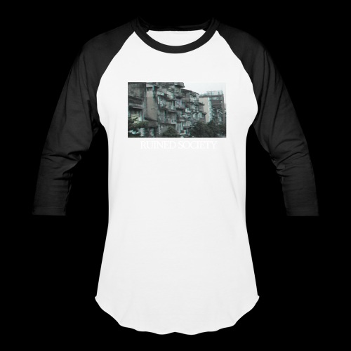 Ruined Society - Unisex Baseball T-Shirt