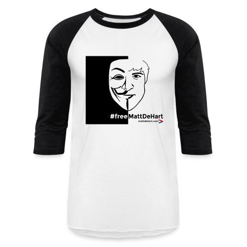 freemattdehart gif - Baseball T-Shirt