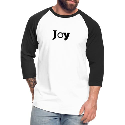 Joy - Unisex Baseball T-Shirt