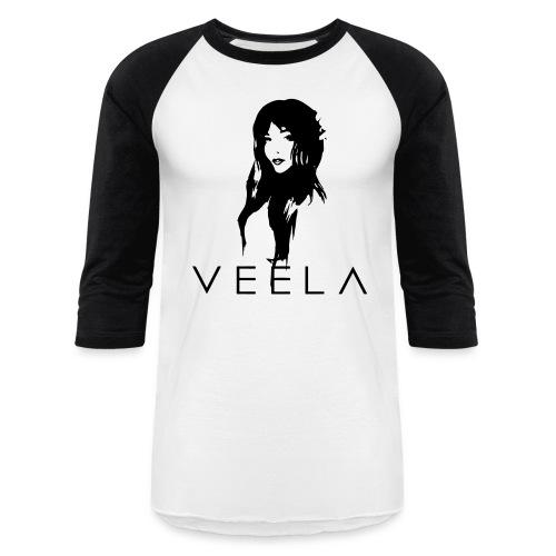 Veela Women's Scoop Lavender Ink - Baseball T-Shirt