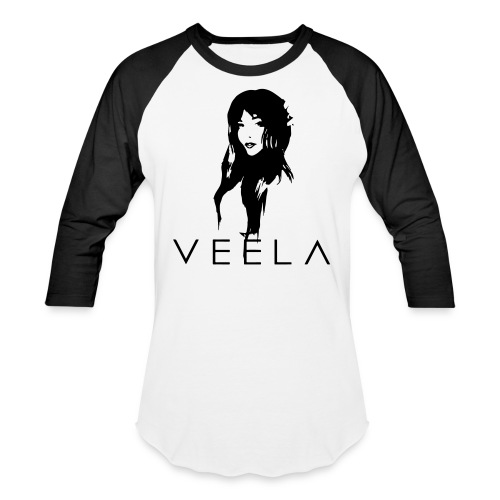Veela Women's Scoop Lavender Ink - Unisex Baseball T-Shirt