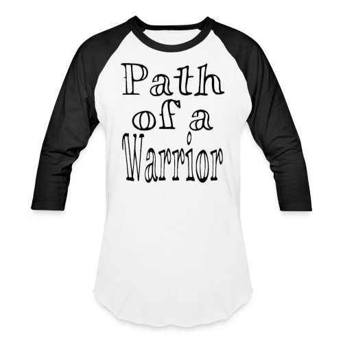 Path of a Warrior (White) - Baseball T-Shirt