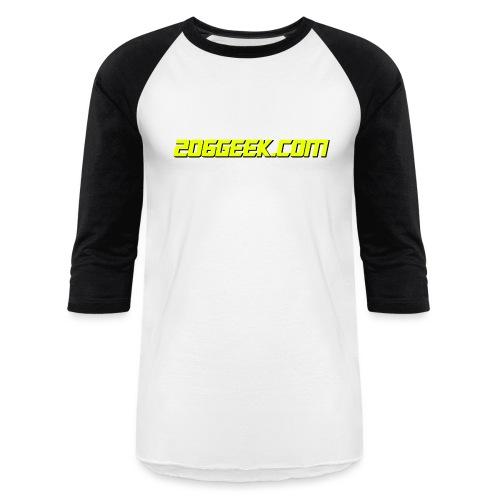 206geek.com - Unisex Baseball T-Shirt