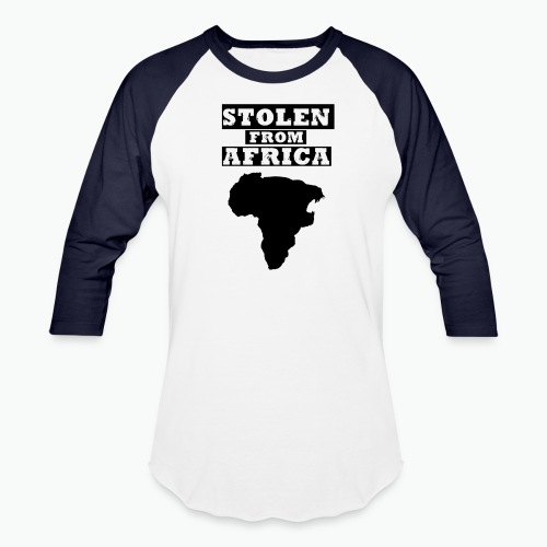STOLEN FROM AFRICA LOGO - Baseball T-Shirt