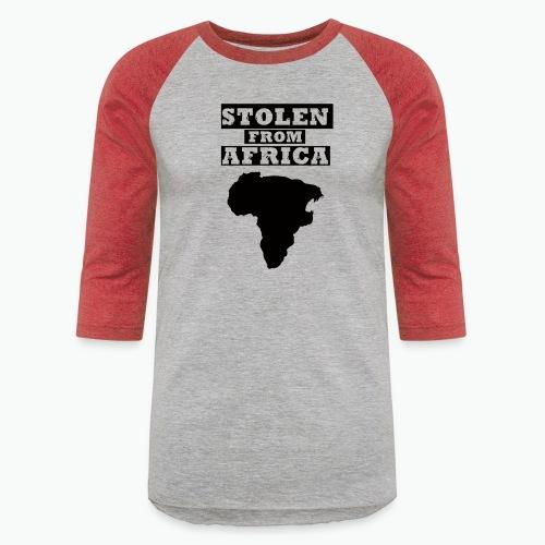 STOLEN FROM AFRICA LOGO - Baseball T-Shirt