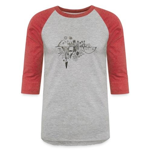 Grit Harbour Logo shirt - Baseball T-Shirt