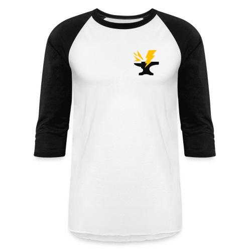 Anvil Big png - Unisex Baseball T-Shirt
