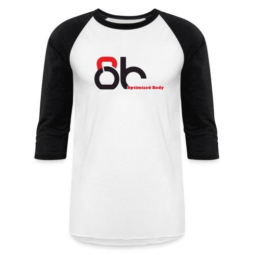 Logo Optimized Body - Unisex Baseball T-Shirt