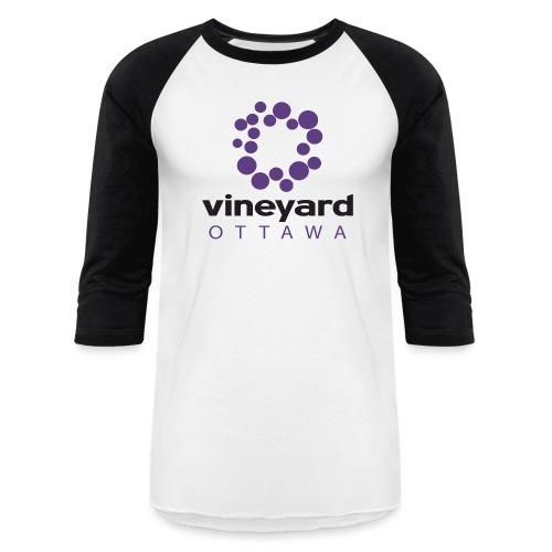 stacked vibrant png - Baseball T-Shirt