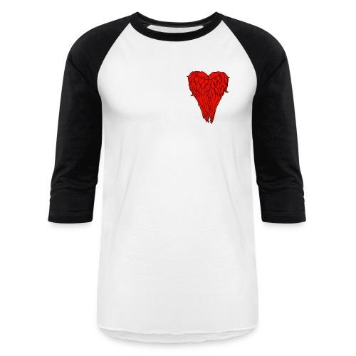 I love Daryl Dixon Wings - Unisex Baseball T-Shirt