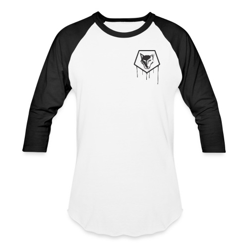 the drip crest - Baseball T-Shirt