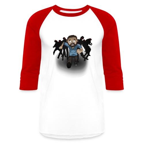 mathastshirt png - Unisex Baseball T-Shirt