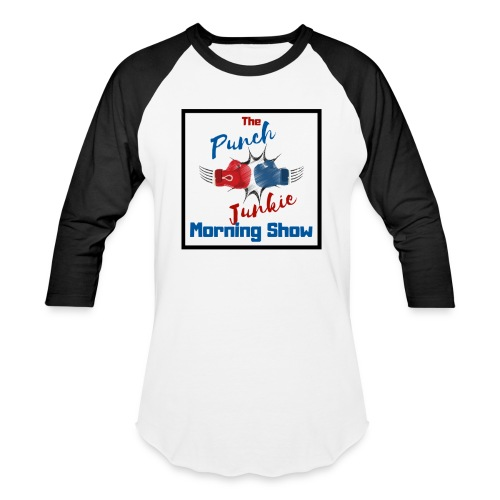 The Punch Junkie Morning Show - Baseball T-Shirt