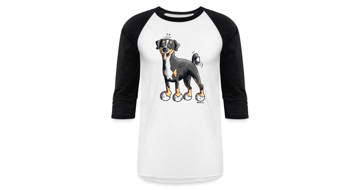 Modartis Cartoon T Sirts Cute Appenzeller Sennenhund Baseball T Shirt