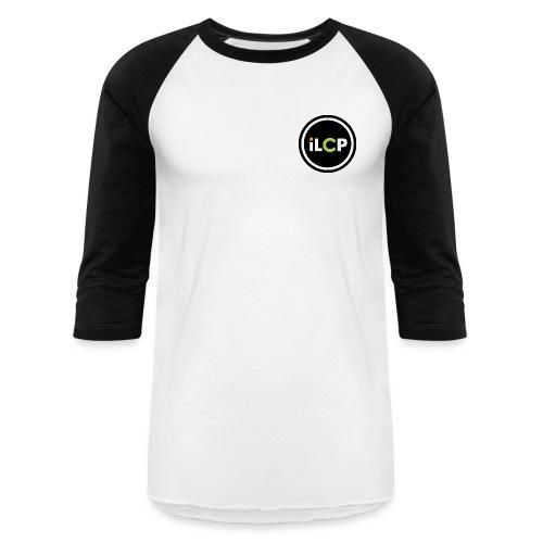 iLCP logo circle - Unisex Baseball T-Shirt