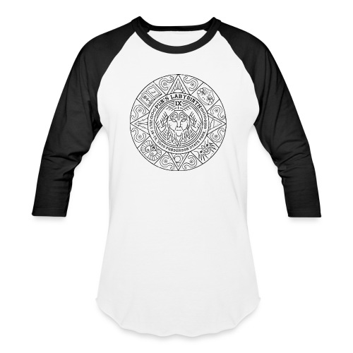 Pun's Labyrinth IX 2020 Tournament Stamp - Unisex Baseball T-Shirt