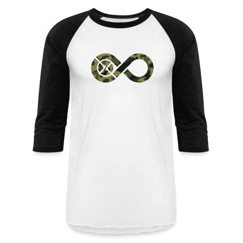 Infinity Camo - Unisex Baseball T-Shirt