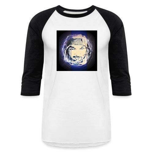 Electric circle - Unisex Baseball T-Shirt