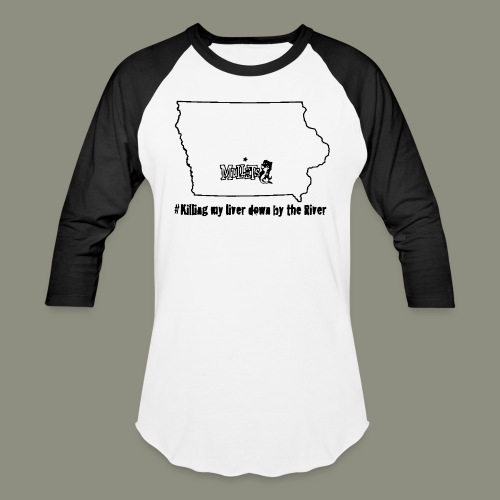 river black - Baseball T-Shirt