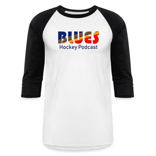 Blues Hockey Podcast - Retro - Baseball T-Shirt