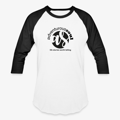 Adventurous Soul Wear - Life Stories Worth Telling - Baseball T-Shirt