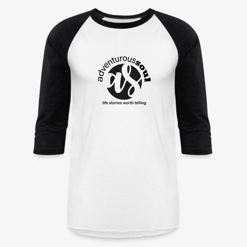 Adventurous Soul Wear - Life Stories Worth Telling - Unisex Baseball T-Shirt