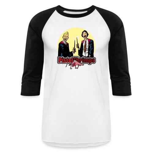 pistolshrimps 2 copy - Baseball T-Shirt