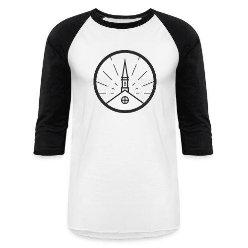 Seal Grey Large - Baseball T-Shirt