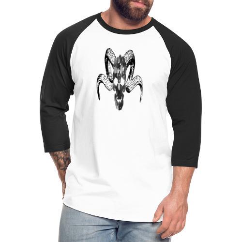 Demons Face - Unisex Baseball T-Shirt