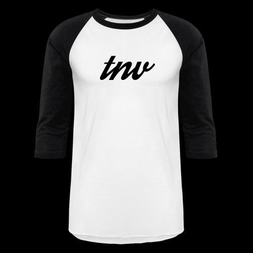 TNV BLACK copy png - Baseball T-Shirt