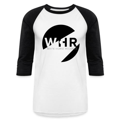 White Horse Records Logo - Baseball T-Shirt