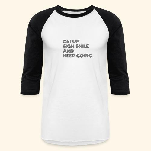 GET UP - Unisex Baseball T-Shirt