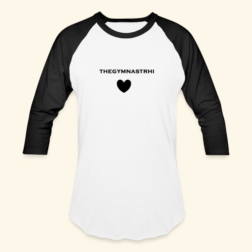 THE GYMNAST RHI MERCH - Baseball T-Shirt