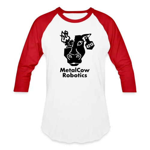 MetalCow Solid - Baseball T-Shirt