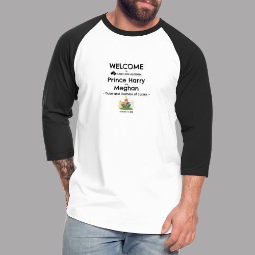 Prince Harry and Meghan Visit Dubbo - 17/10/2018 - Unisex Baseball T-Shirt
