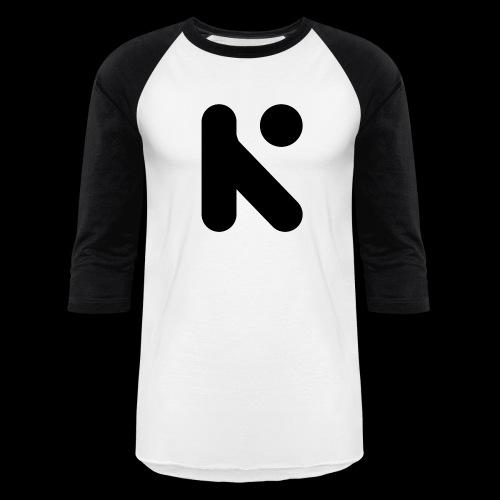 Black K - Baseball T-Shirt