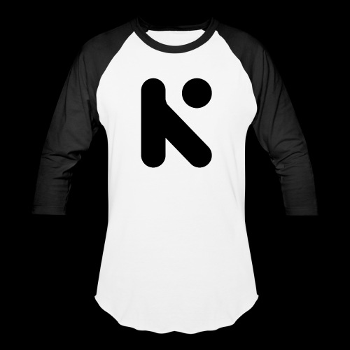 Black K - Unisex Baseball T-Shirt
