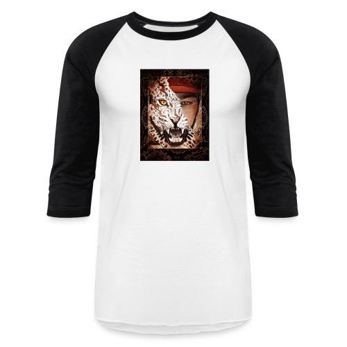 Leopard - Unisex Baseball T-Shirt