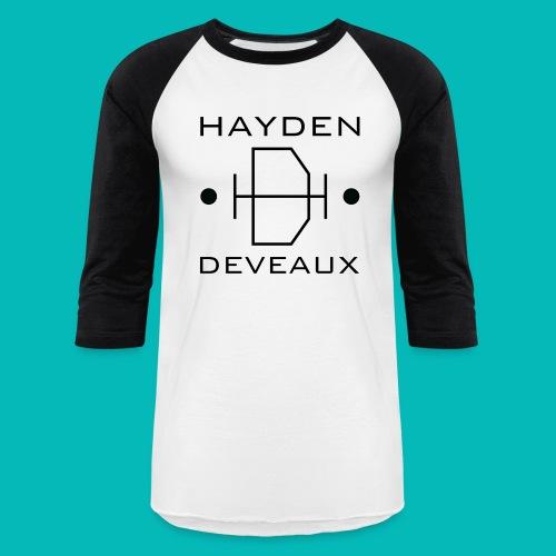 Hayden Deveaux Logo - Unisex Baseball T-Shirt