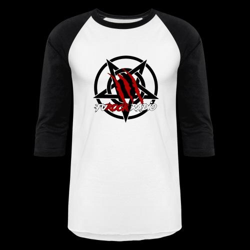 FuROCKpentalogoLarge - Unisex Baseball T-Shirt