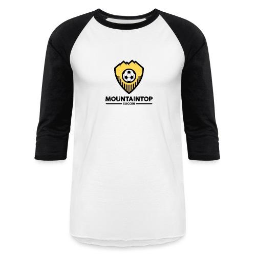 Mountaintop Soccer Association Logo - Baseball T-Shirt