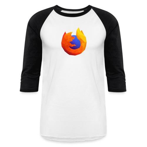 Firefox Reality Logo - Unisex Baseball T-Shirt