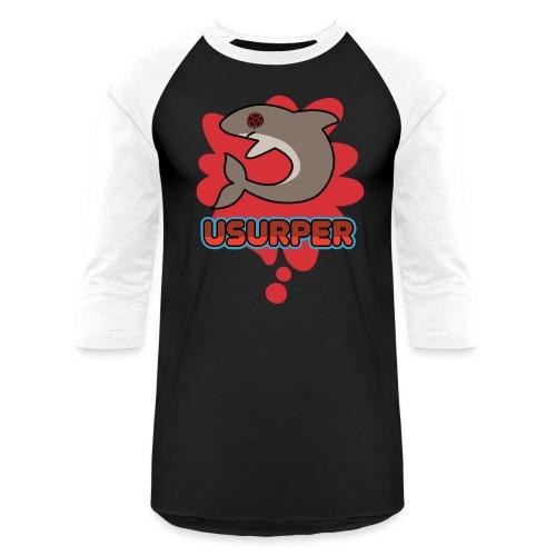 usurrrperrrr - Unisex Baseball T-Shirt