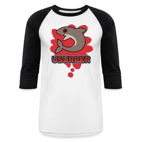 usurrrperrrr - Baseball T-Shirt