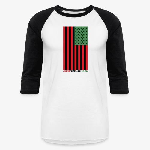 juneteenth003 - Unisex Baseball T-Shirt