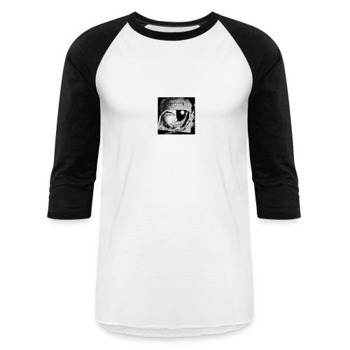 Eli/Winter face - Unisex Baseball T-Shirt